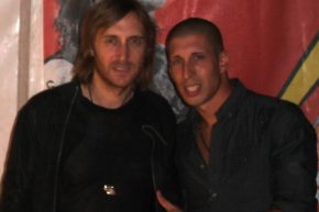 with David Guetta