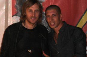 with David Guetta